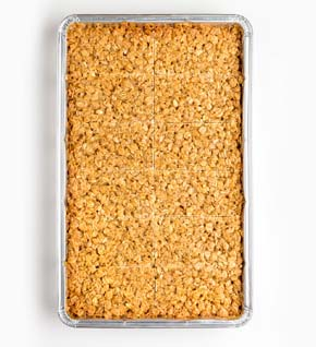 All butter flapjack tray bake