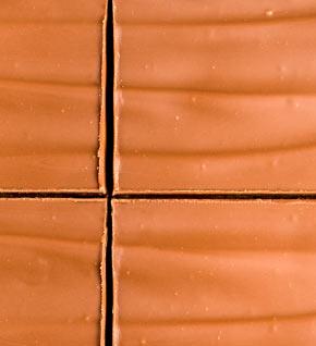 Caramel shortcake closeup