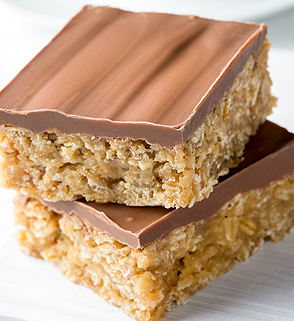 All Butter Flapjack and Belgian Chocolate