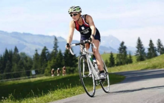 Traybakes support GB triathlete Karen Bridge