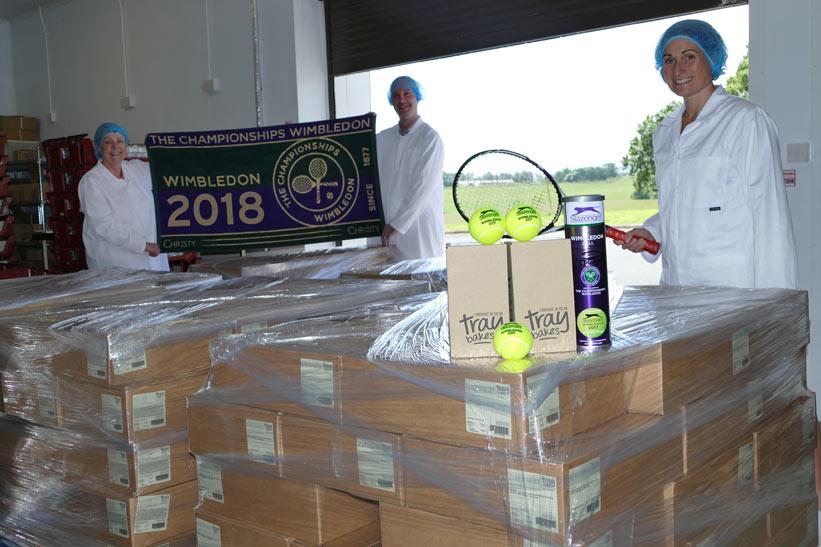 Traybakes set for Wimbledon 2018