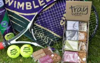 Traybakes set for Wimbledon 2018