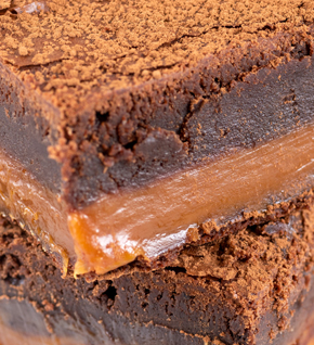 Traybakes - Salted Caramel Chocolate Brownie