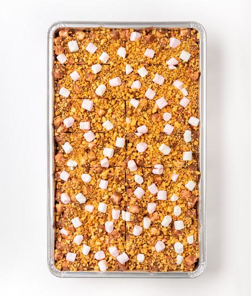 Honeycombe Crunch sharing Slice
